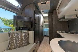 Airstream caravan interior
