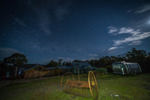 Bruny Island Lodge night view