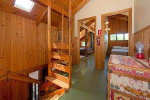 Upstairs level