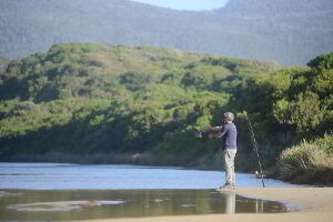 Enjoying some fishing