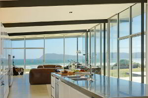 Modern kitchen facilities are available with stainless steel benchtops