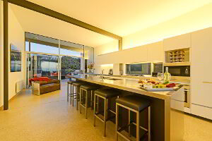Modern kitchen facilities are available