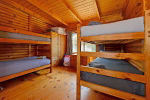 Bunk room and second bedroom