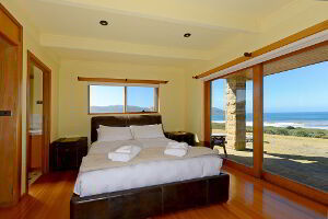 Master Bedroom with a great view looking over Middle Bay