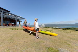Canoeing and kayaking near Cloudy Bay Villa