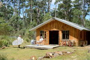Saintys Creek Cottage is a perfect base for outdoor activities such as canoeing, surfing, paddle boarding, bike riding, bushwalking and fishing