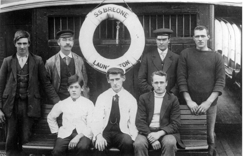 S.S. Breone crew c.1910