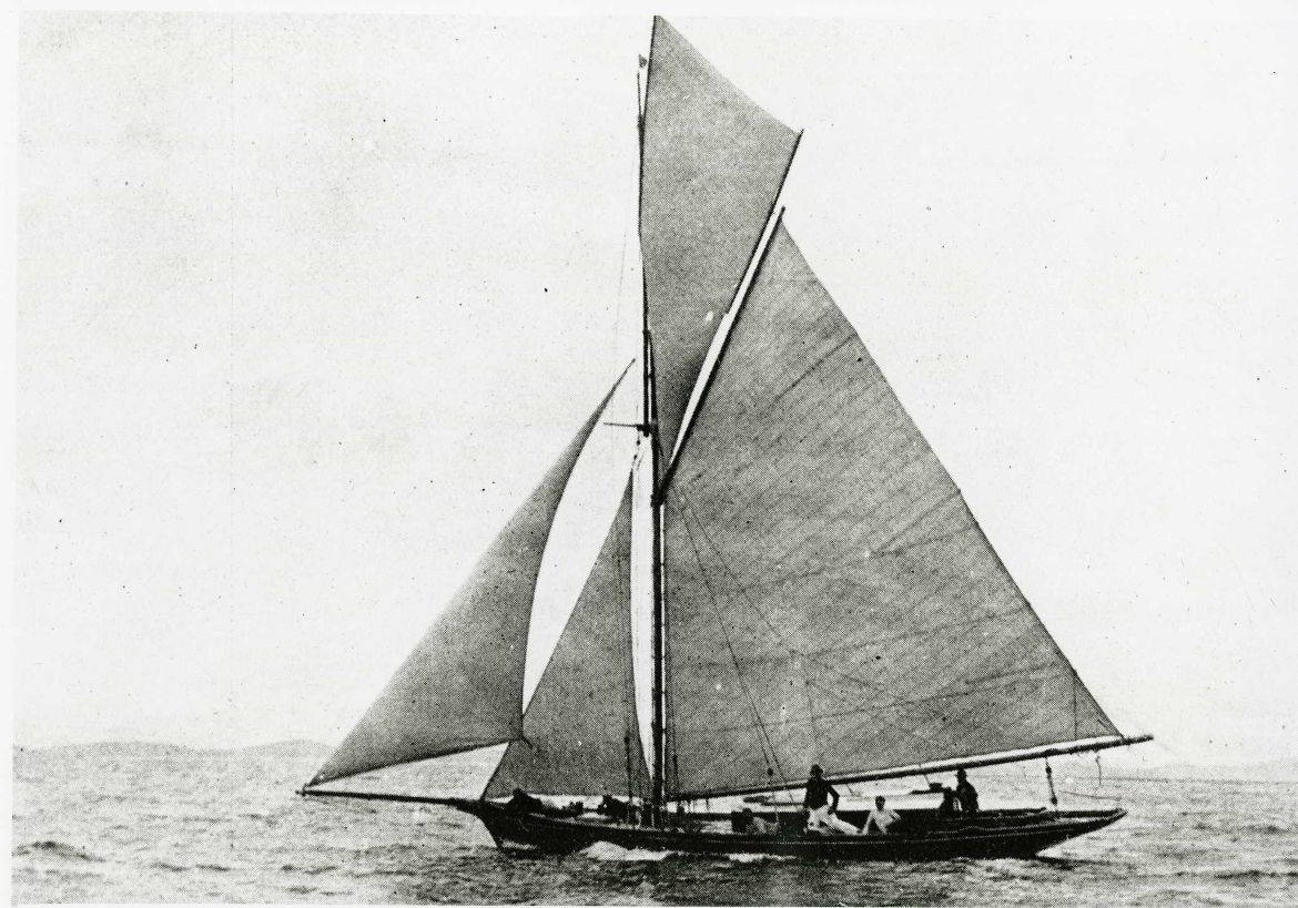 Volant, the winner of the 1911 Ocean Race