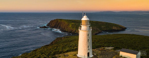 The Bruny Island Lighthouse was the fourth lighthouse built In Australia.