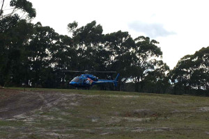 Fast track your arrival to Bruny with a helicopter. Rotor Lift are familiar with the Bruny Island Lodge Helipad