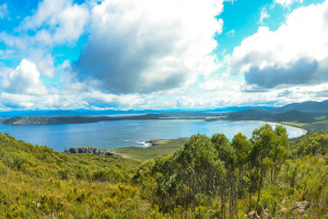 view-cloudy-bay-lagoon-tasmania