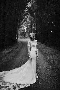 The bride Shalissa