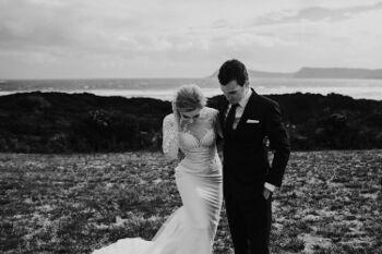 Josh and Shalissa at Cloudy Bay
